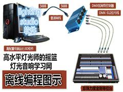 珍珠力度金刚顾德灯光控台离线编程预编程培训中文视频教程