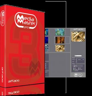 ArKaos MediaMaster pro软件,演出行业.佳控制屏幕的VJ软件