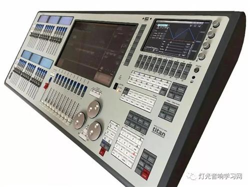 老虎触摸(Tiger Touch)控台面板介绍。