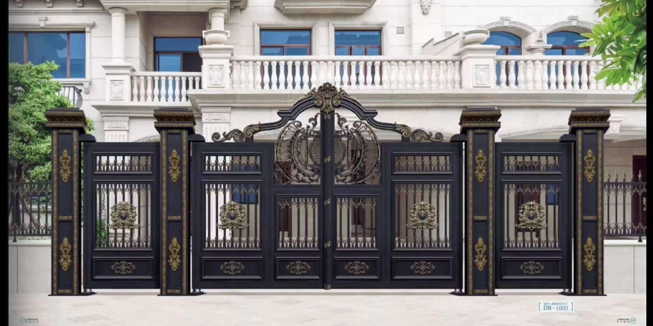 呼市庭院门