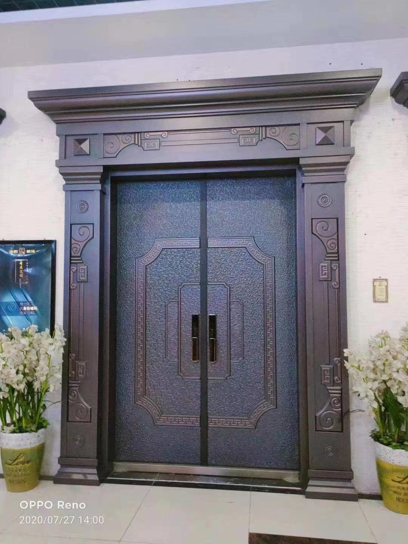 铸铝门怎么保养?