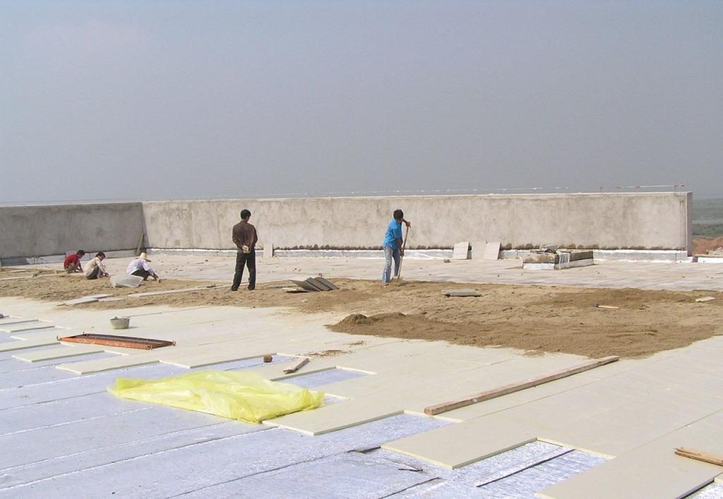 河南安达保温材料挤塑板应用案例