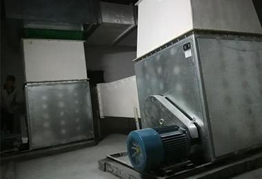 四川消防排烟设备案例