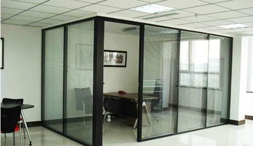 汉中办公室高墙隔断安装