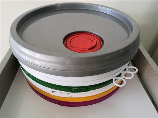 圆形塑料桶桶盖细节展示!