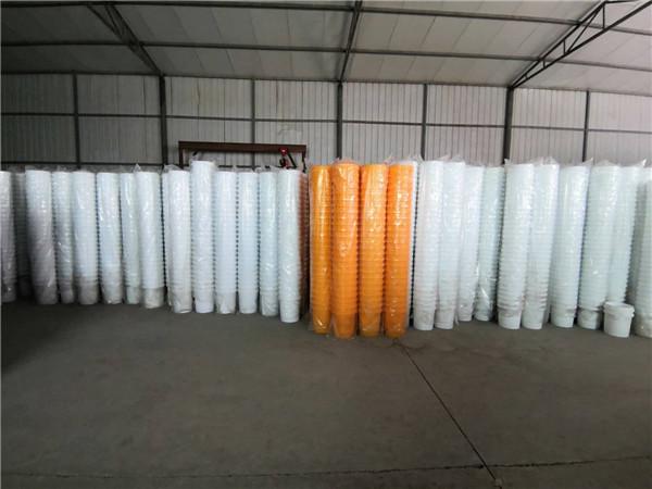 西安圆形塑料桶厂区库房展示!