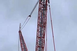 陕西塔吊设备高空作业中