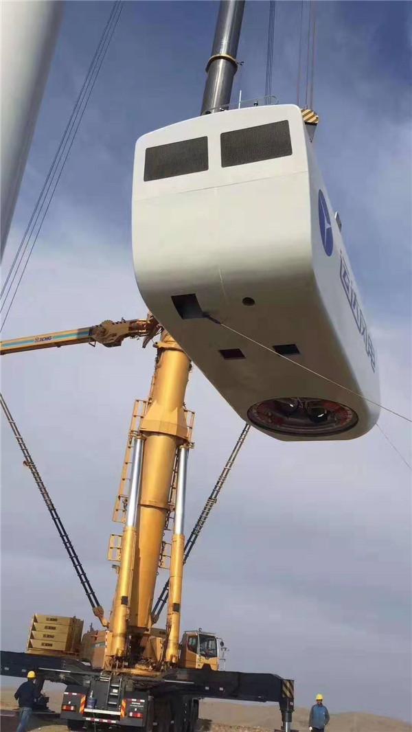陕西大型吊装设备施工中
