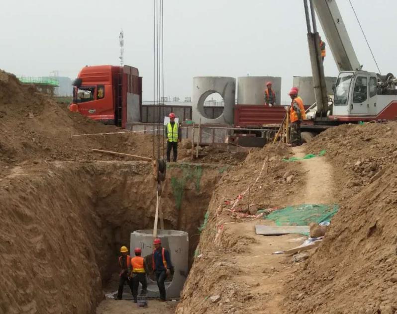 中铁十二局集团建筑安装工程有限公司检查井项目