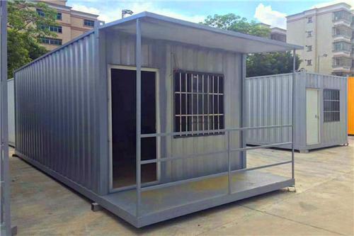防止成都住人集装箱生锈的三个措施