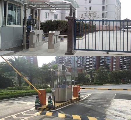 智能小区门禁系统+停车场自动缴费系统案例