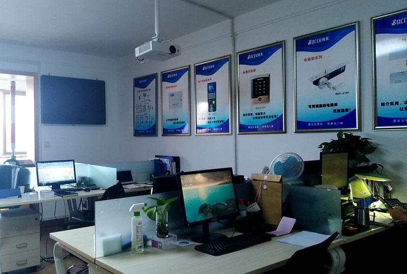 西安兆河电子办公室环境