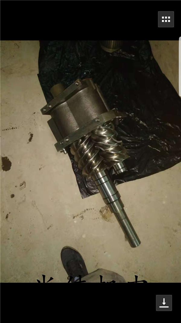 更换螺杆机转子轴承