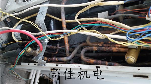 多联机更换压缩机
