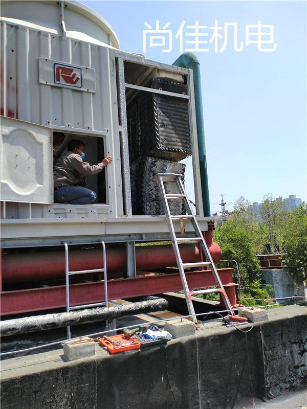 河南中央空调冷却塔清洗