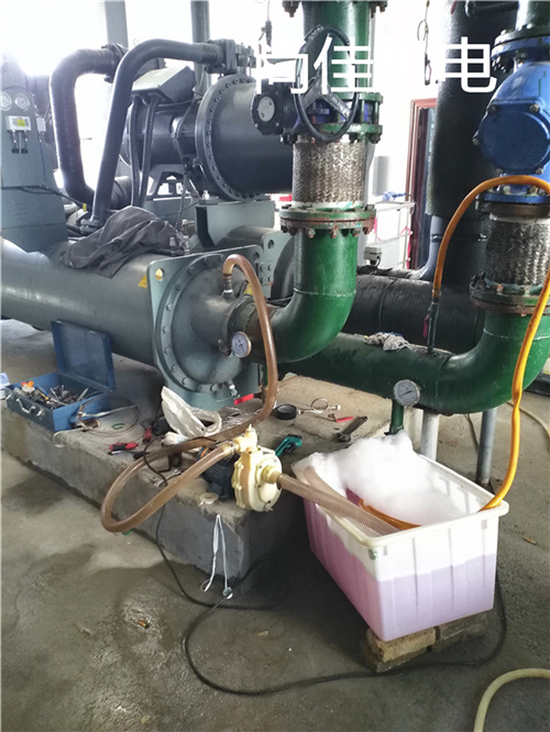 河南冷水机组冷凝器清洗
