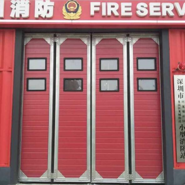 郑州消防折叠门