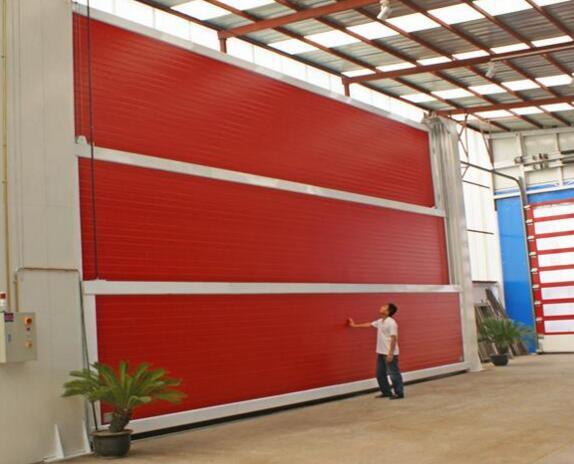 郑州工业提升门生产