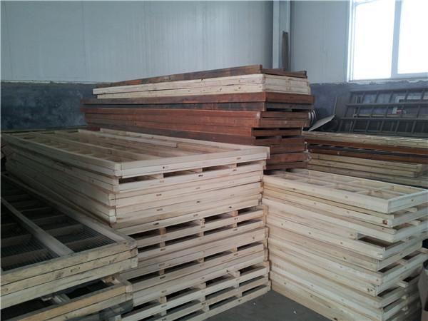 直线筛木质筛框