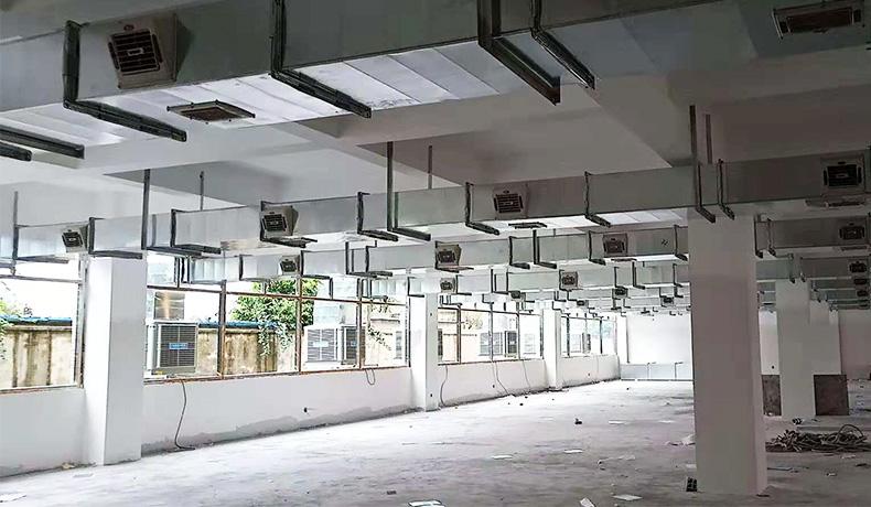 四川工业冷风机安装成功案例