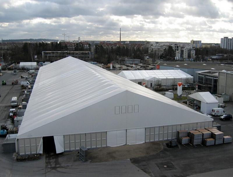 工地仓库帐篷搭建