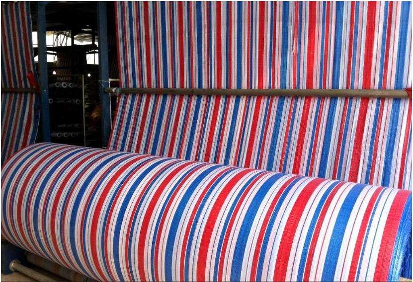 生产彩条布包装材料_彩条布生产厂家