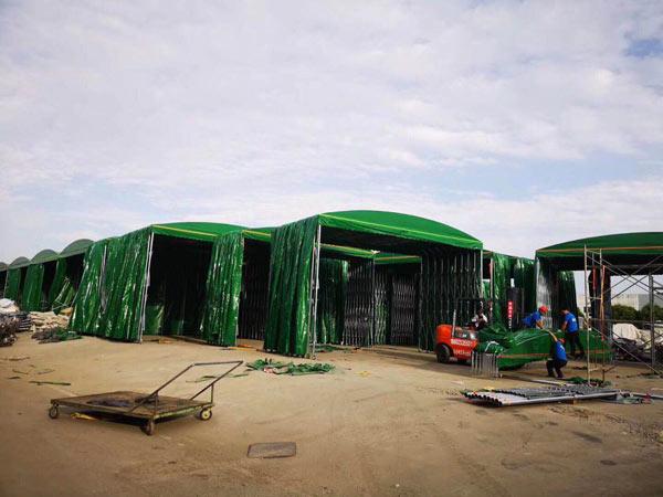 兰州帐篷厂-推拉帐篷案例