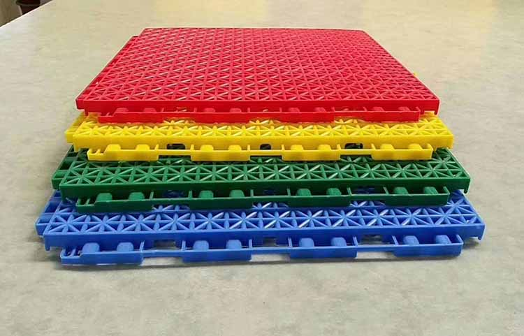 低、高端悬浮式拼装地板