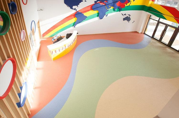 儿童场所塑胶地板