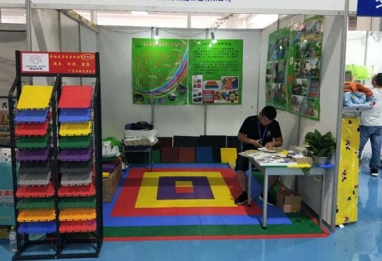 德美瑞参加2018第九届中国(济南)国际幼教用品及幼儿教育展览会