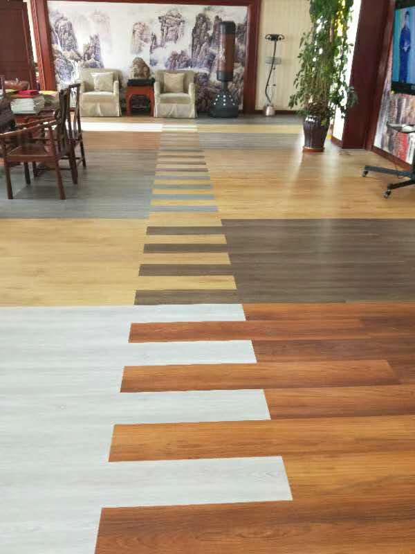 SPC塑胶地板案例