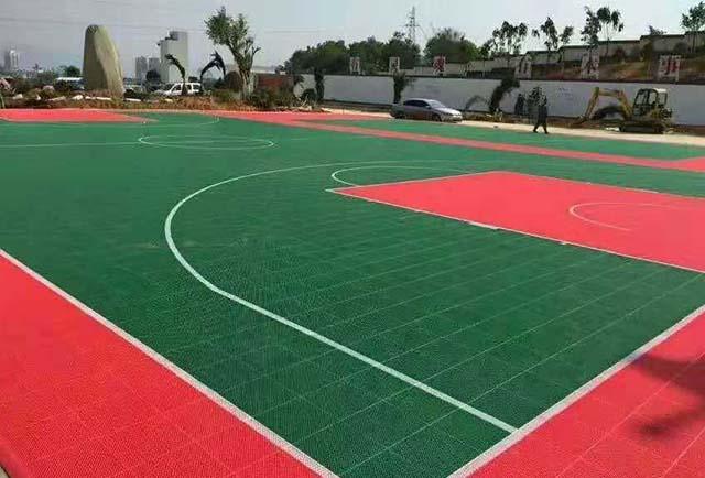 篮球场专用悬浮地板