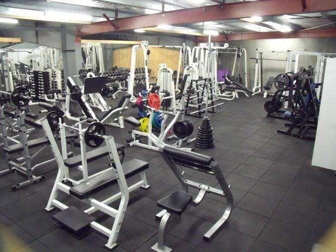 健身房橡胶地垫