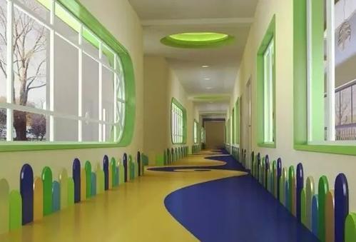 幼儿园专用PVC防滑地板