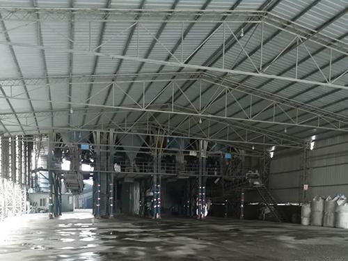 贝博西甲机制砂制备厂区展示
