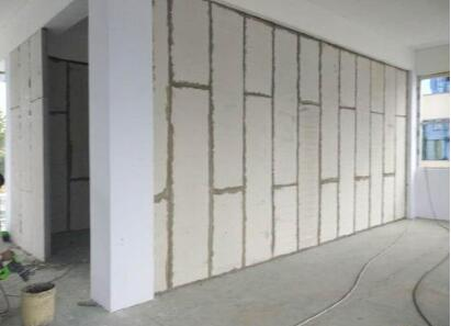 轻质隔墙板施工过程
