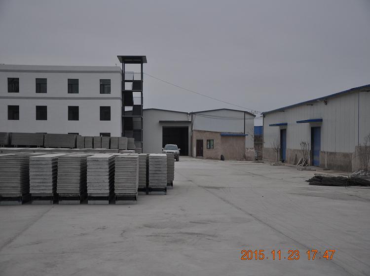 隔墙板生产厂区