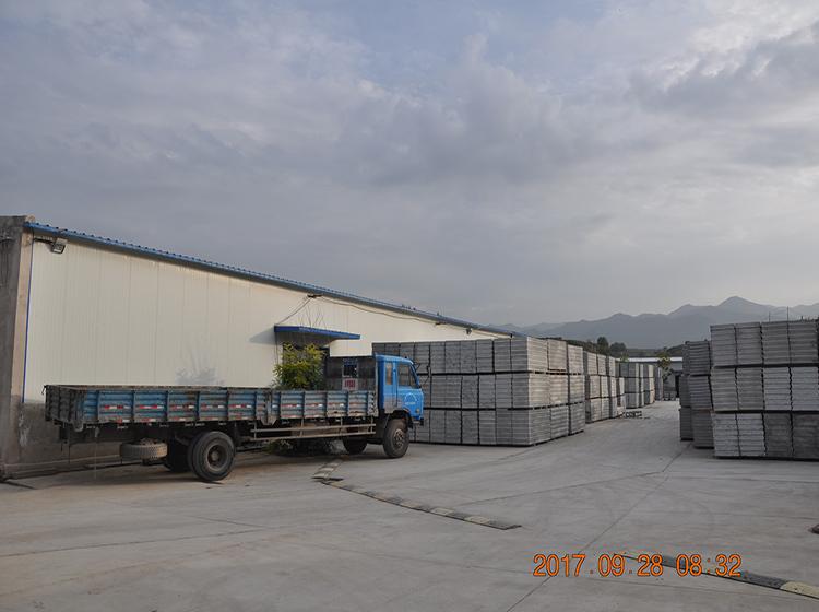 轻质隔墙板生产厂区