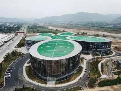陇西文峰药材博览中心岩棉保温板工程