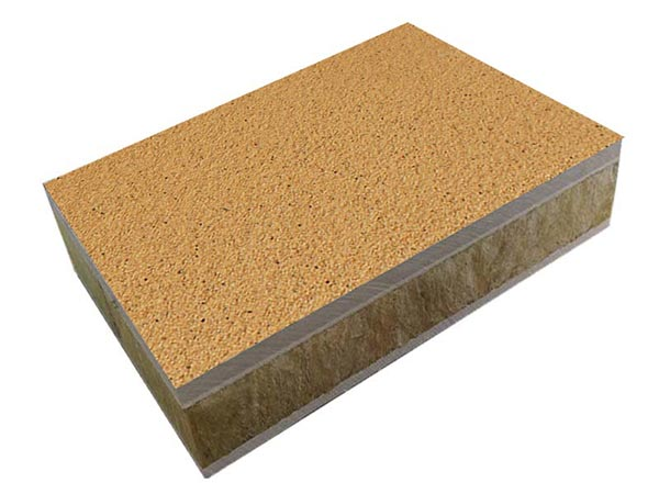 保温装饰一体板保温系统