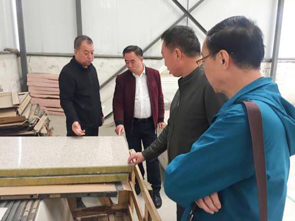 任林总经理介绍一体板的质检体系