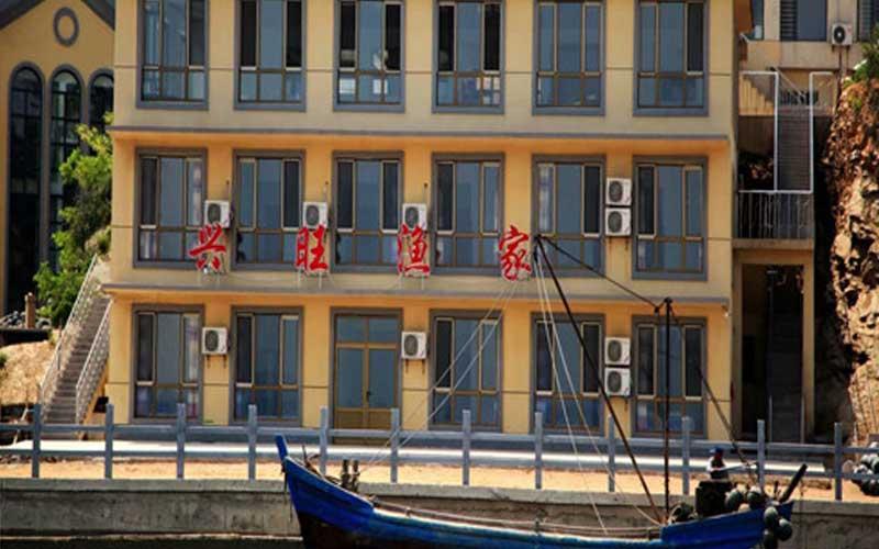 哈仙岛兴旺渔家门头照