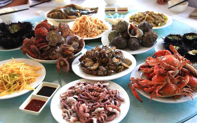 哈仙岛餐桌美食