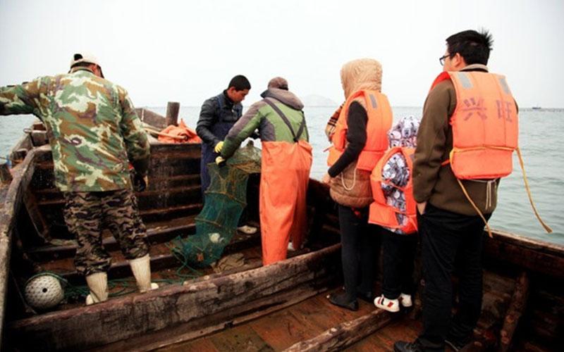 来哈仙岛带你感受真正的渔民生活