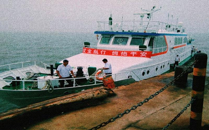 皮口港至长海县各港船舶票价一览表