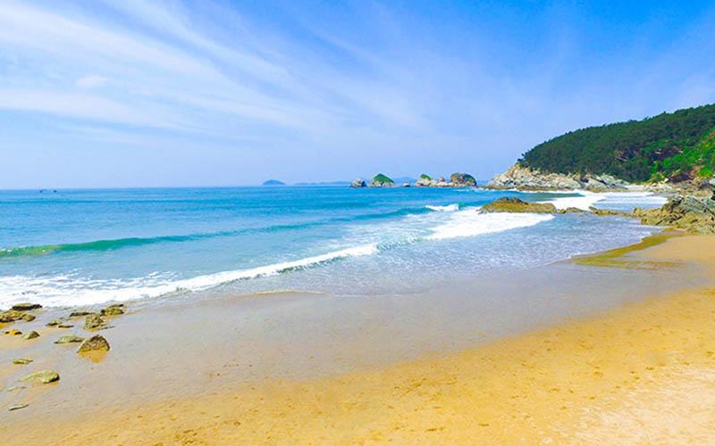 淳朴的哈仙岛,快乐的金沙滩