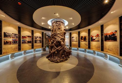 展览馆设计丨中铁北京工程局一公司历史文化展览馆