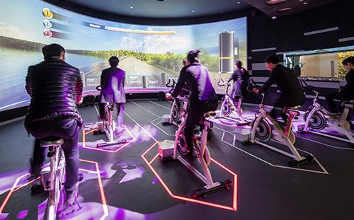 单车虚拟漫游