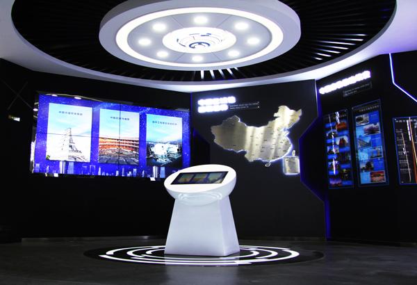 企业展厅丨三好软件双创职业技能培训中心数字展厅