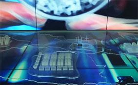 电子背投沙盘丨西安展览公司多媒体